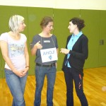 Tschechisch-Sprachunterricht mit Milada Vlachova und Lucie Holackova