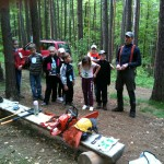 Waldjugendspiele im Werdauer Wald, 2012