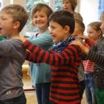 Tschechisch-Sprachanimation mit Kveta Selbickova von TANDEM, Klasse 1