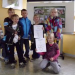 3. Platz Sportlichste Grundschule im Vogtland 2012
