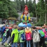 Schuljahresabschluss Klasse 3 im Freizeitpark Plohn