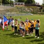 Eröffnung des gemeinsamen Sportfests